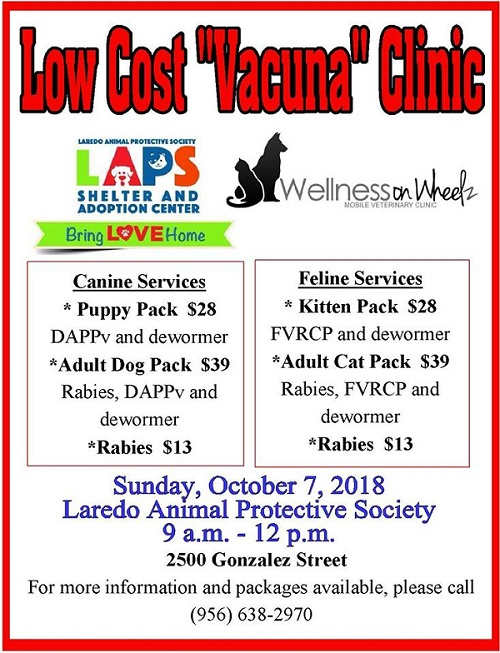 Low Cost Vacuna Clinic @ LAPS