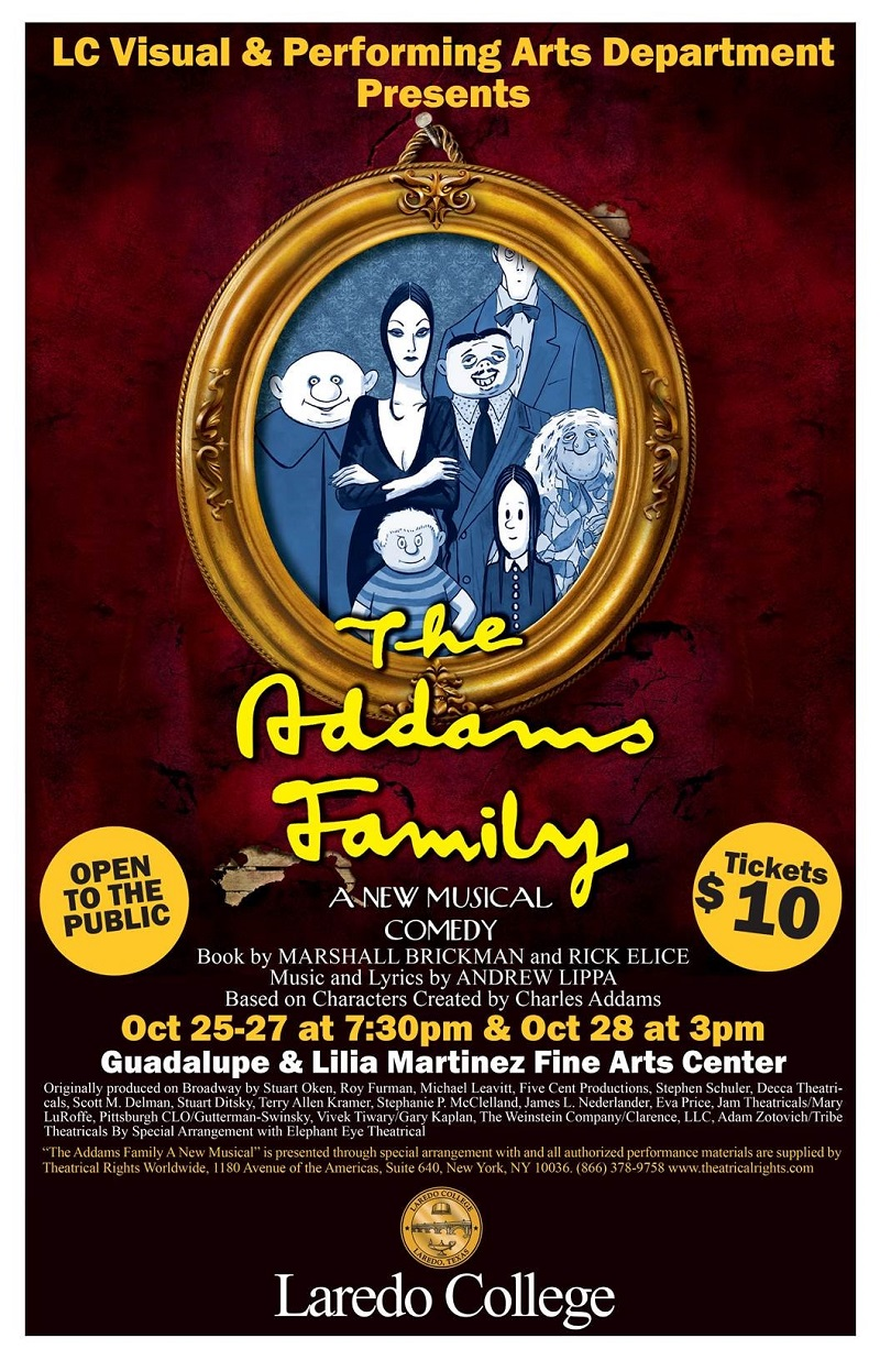 Addams Family Musical Comedy