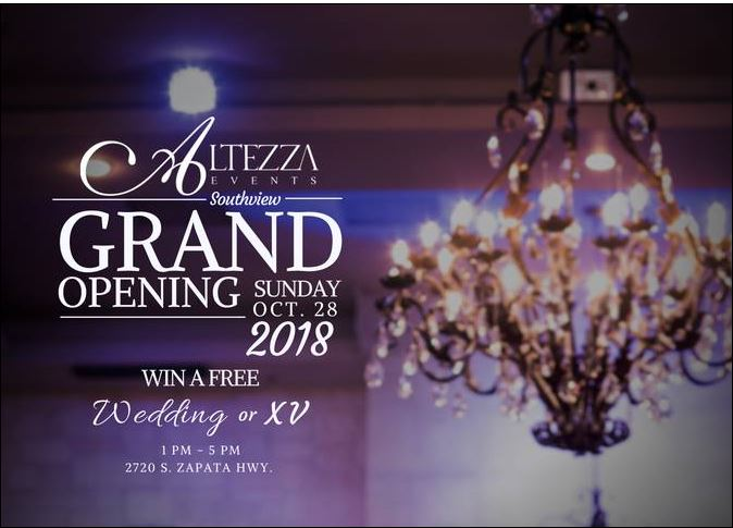 Altezza Events Southview Grand Opening