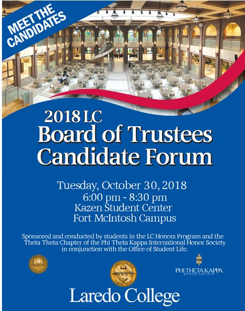 2018 LC Board of Trustees Candidate Forum