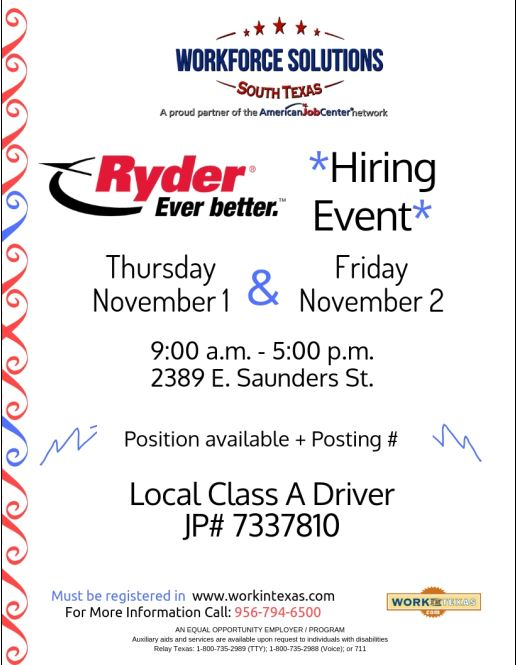 Workforce Solutions Hiring Event