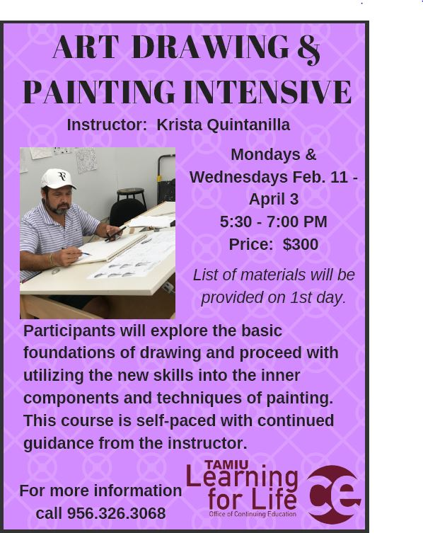 Art Drawing & Painting Intensive